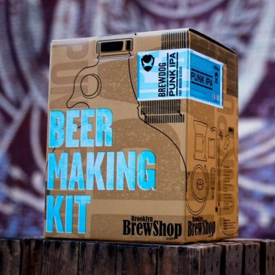 Punk IPA Homebrew kit или как сварить BrewDog дома