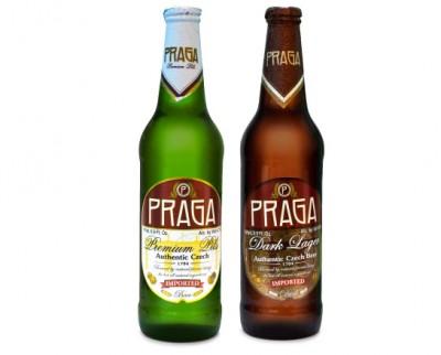 Акция на чешское пиво Praga в Сильпо