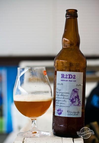 Дегустация домашнего пива R2D2 American Pale Ale