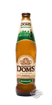 Robert Doms - новая линейка пива от львовской пивоварни