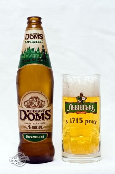 Дегустация пива Robert Doms Богемський