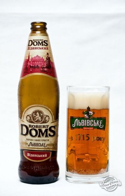 Дегустация пива Robert Doms Віденський