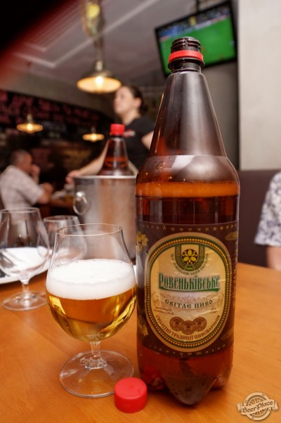 Дегустация пива Ровеньківське Світле и Гримучий ключ в PivBar