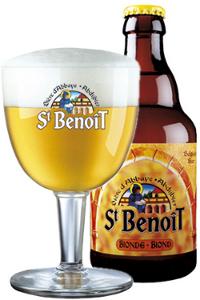 Бельгийское пиво Saint-Benoit Blonde