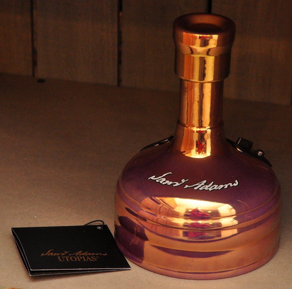 Оригинальная бутылка Samuel Adams Utopia 0,75 л.