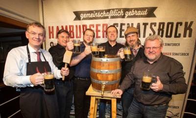 В Гамбурге возродили пиво Senatsbock