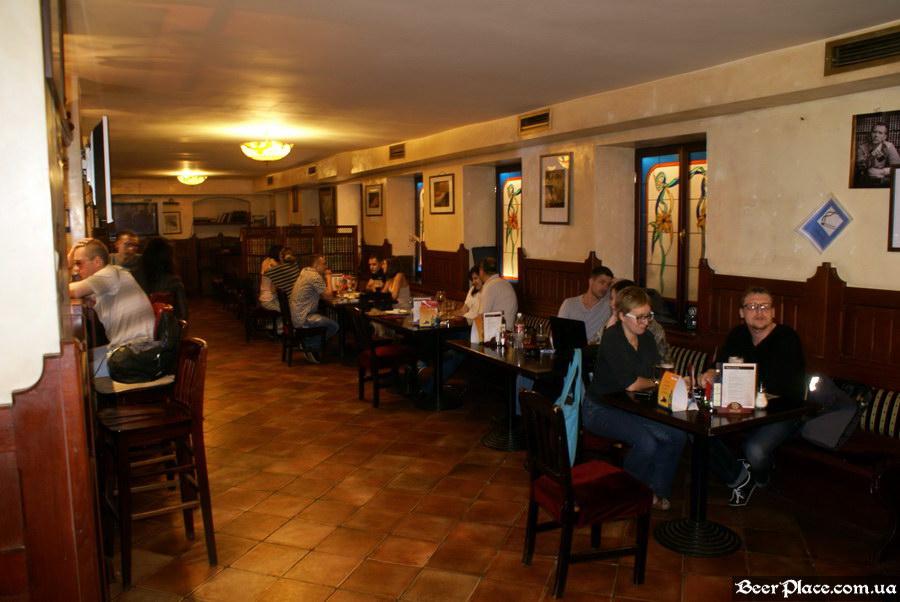 Обзор Sepia Pub | Сепия паб. Киев. Фотографии. Второй зал