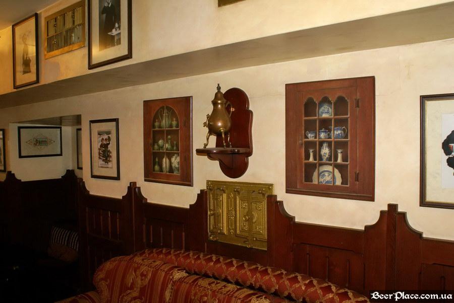 Обзор Sepia Pub | Сепия паб. Киев. Фотографии. Забавный чайник