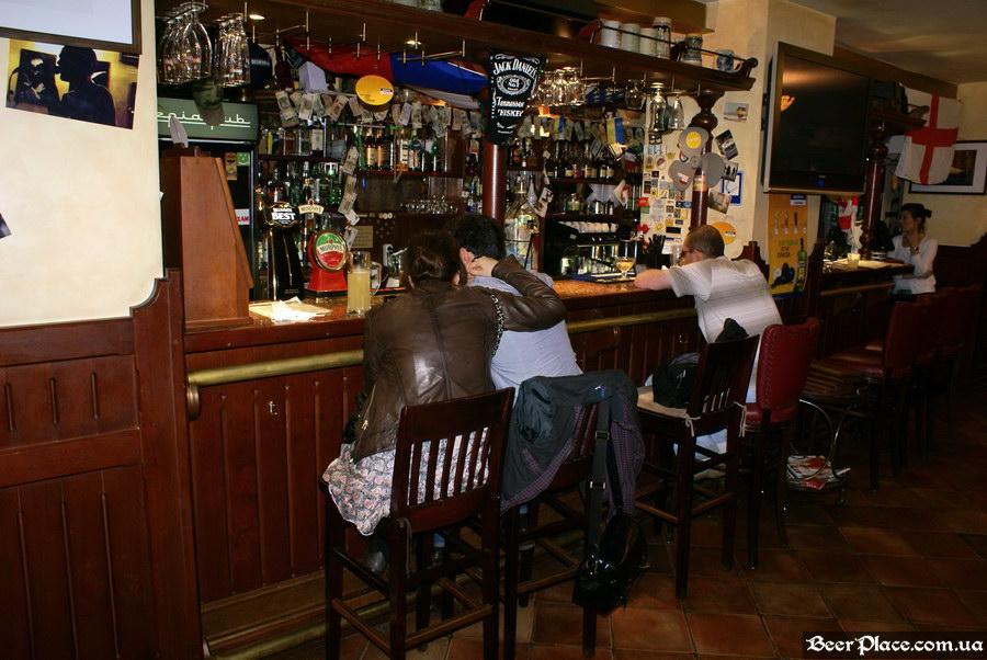 Обзор Sepia Pub | Сепия паб. Киев. Фотографии. Барная стойка