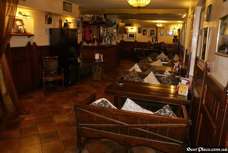 Обзор Sepia Pub | Сепия паб. Киев. Фотографии. Первая часть зала