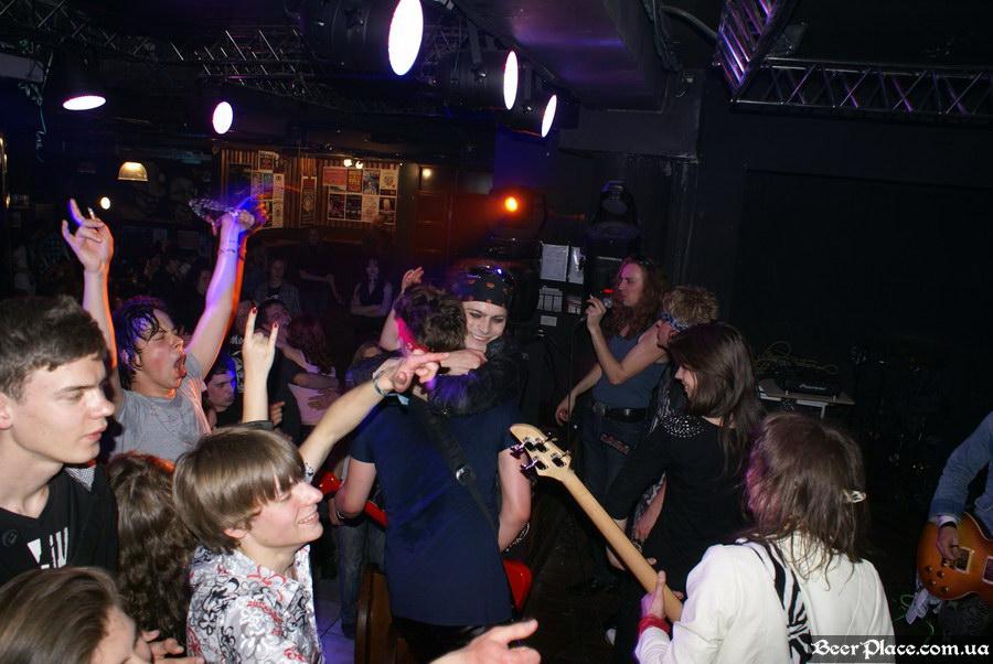 Паб Штольц. Киев. Second Glam-Rock Party In Ukraine. HAIRY VIPER (бывшая Pitt Madison)