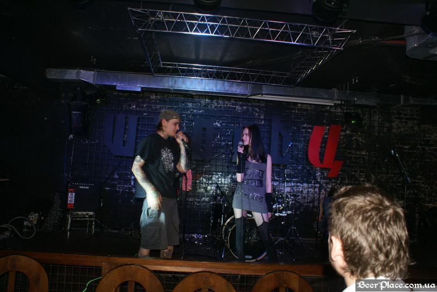 Паб Штольц. Киев. Second Glam-Rock Party In Ukraine. MC DoG и Juliet C