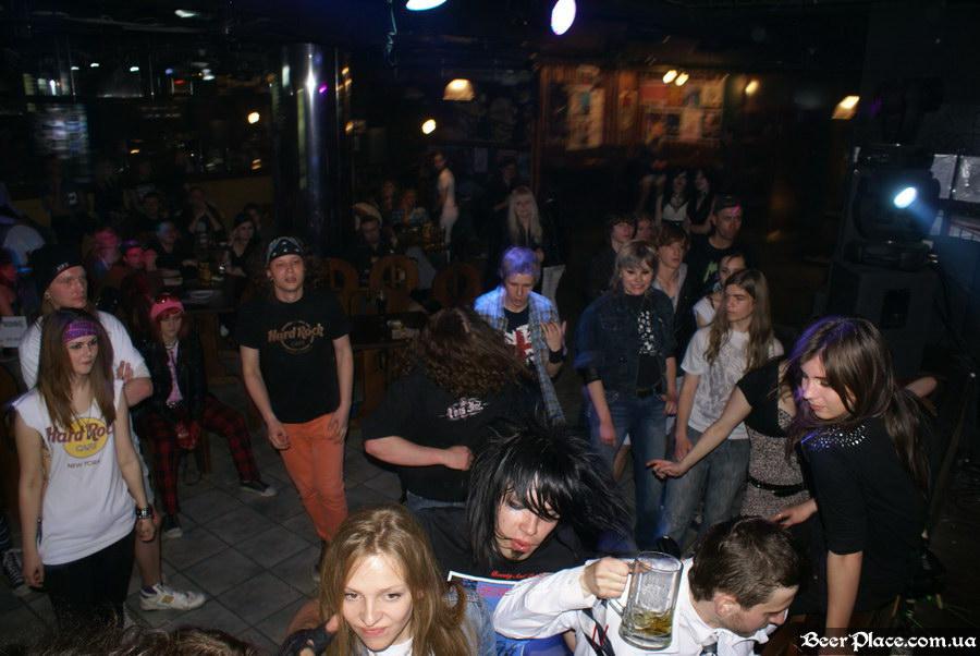Паб Штольц. Киев. Second Glam-Rock Party In Ukraine. Mar'lyn Monroe