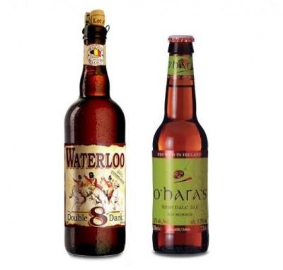 Акция на O'Hara's Irish Pale Ale и Waterloo 8 Double Dark в Сильпо