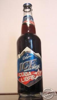 ICE beer mix CUBA LIBRE - новинка от Carlsberg Ukraine