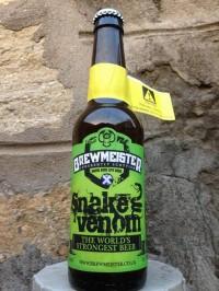 Snake Venom - очередное самое крепкое пиво в мире
