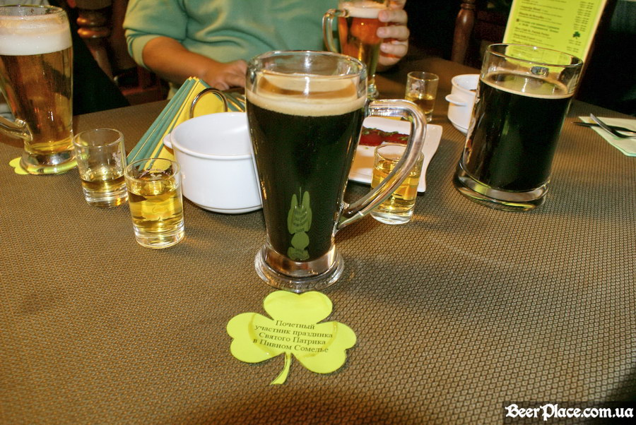 День святого Патрика 2011. Паб Пивной Сомелье. Beer Club St. Patrick Porter