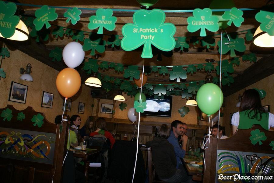 День святого Патрика 2011: паб O'CONNOR'S. Поговорим?