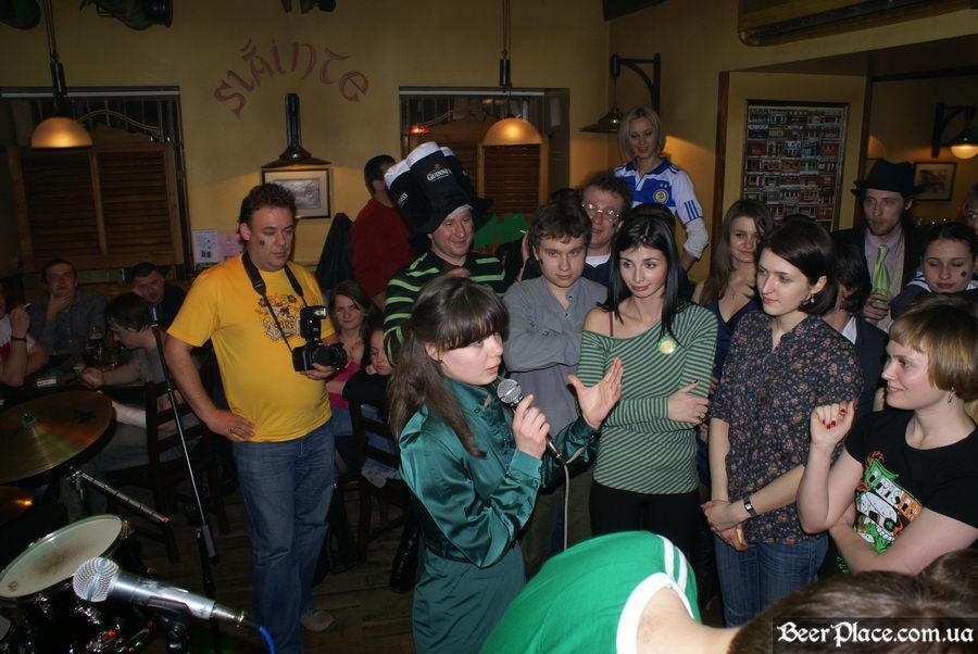 День святого Патрика 2011: ирландский паб O'BRIEN'S. Рассказываем анекдоты и получаем призы