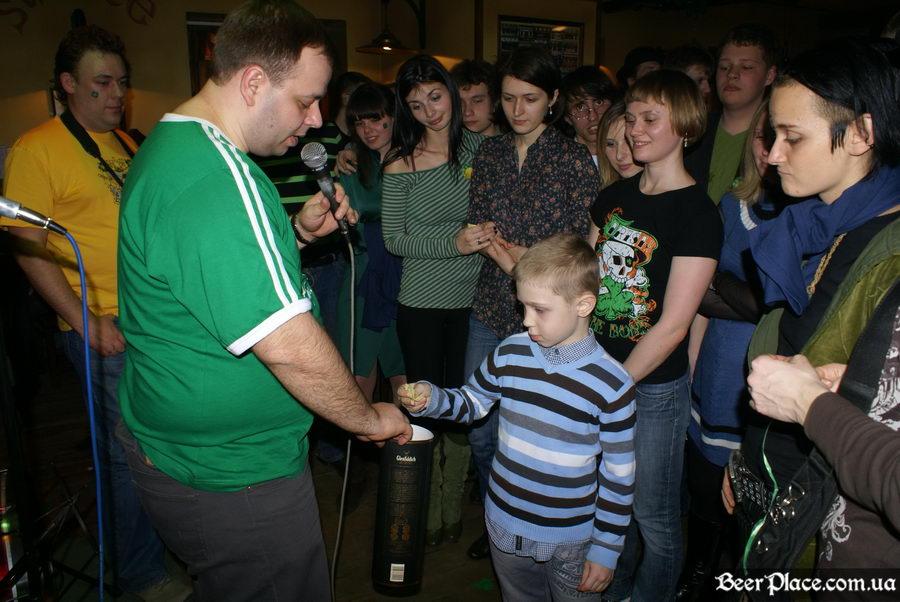 День святого Патрика 2011: ирландский паб O'BRIEN'S. Второй независимый эсперт :)