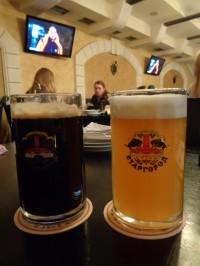 Рождественское и пшеничное пиво в львовском Старгороде