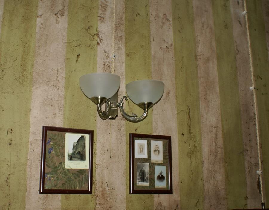 Чешский ресторан Старомак. Проводка под старину