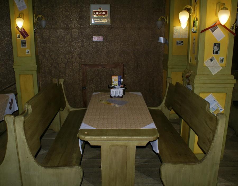Чешский ресторан Старомак. Большой стол