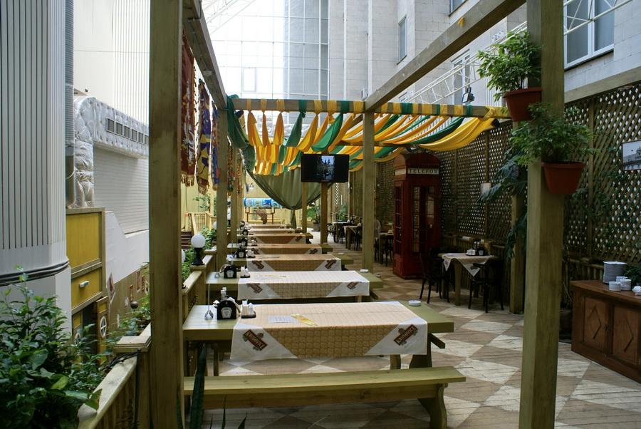 Чешский ресторан Старомак. Зал на втором этаже