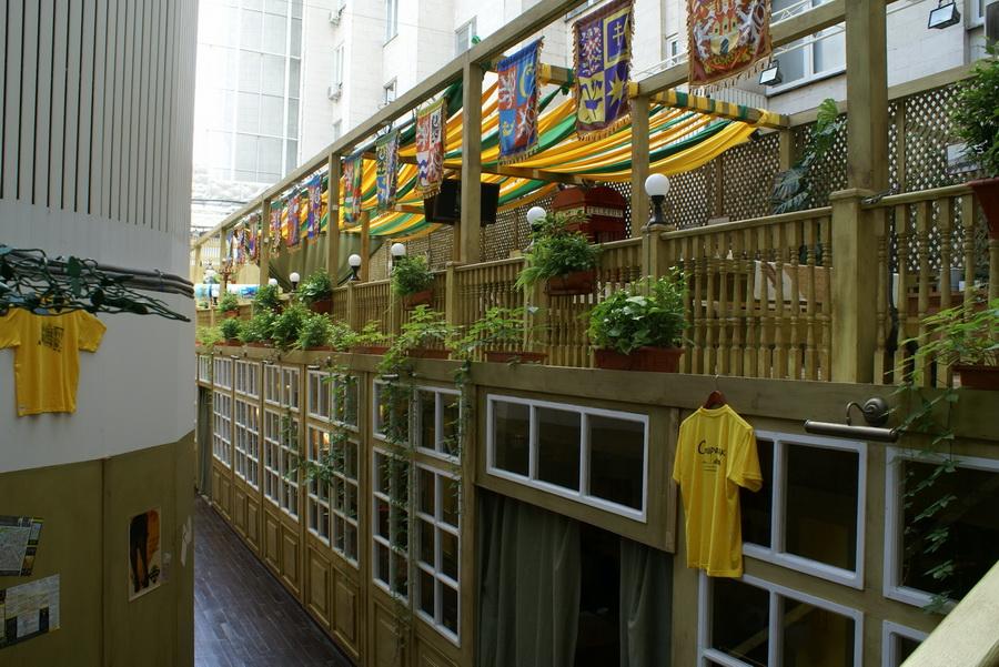 Чешский ресторан Старомак. Два больших зала