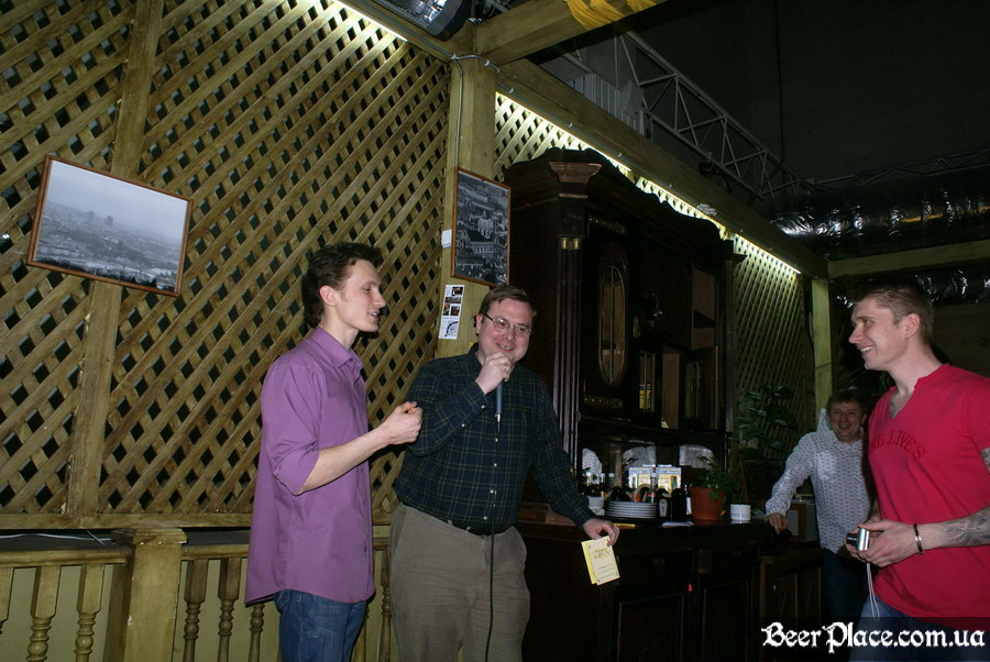 Старомак. Славности пива. Апрель 2011. Обладатель бочки пива