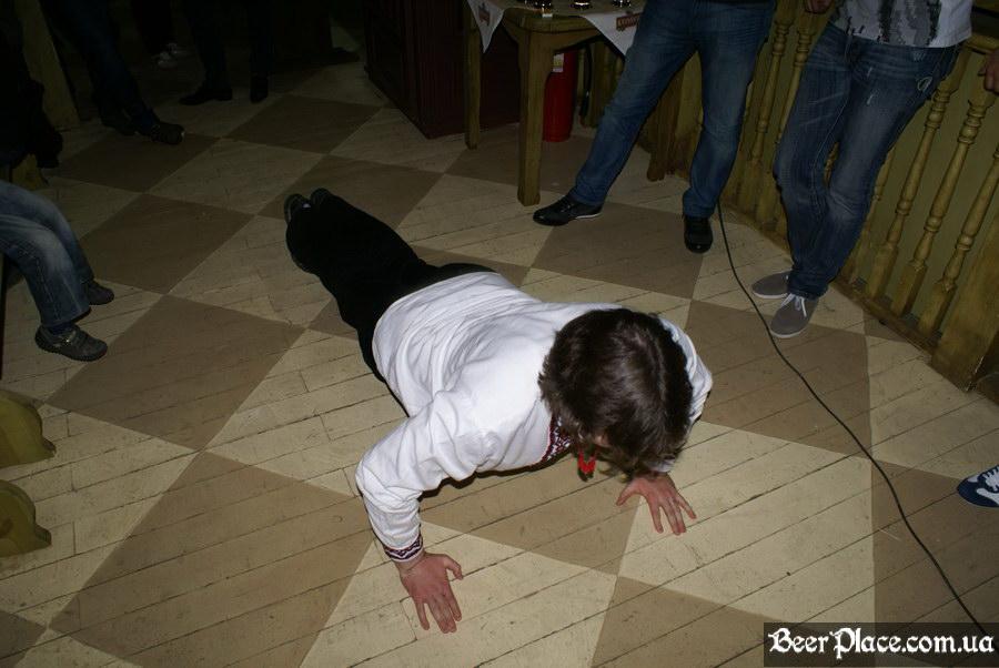 Старомак. Славности пива. Апрель 2011. Выпил - отжался, выпил - отжался...