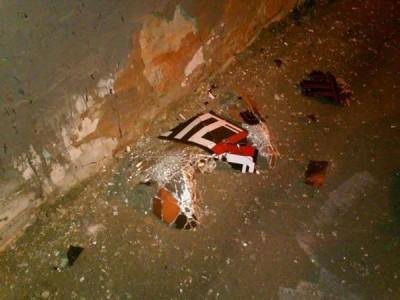В харьковском пабе стена прогремел взрыв