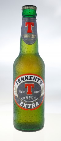 Tennent´s Extra Strong Lager - шотландская новинка в Мега Маркетах