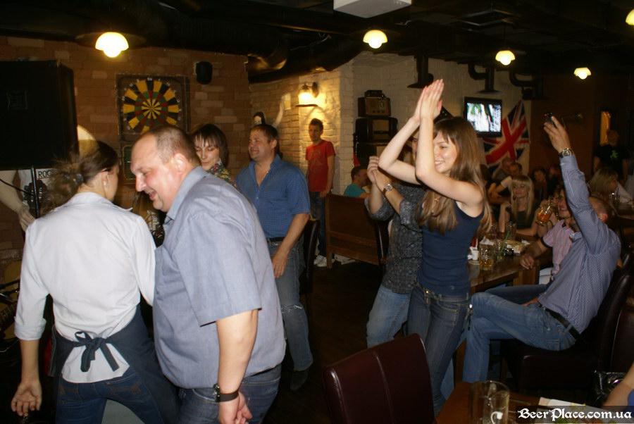 Паб Блиндаж. Табула Раса. Фото. Танцы-шмансы!