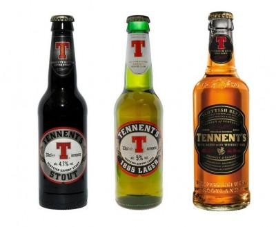 Tennent's - новое бутылочное пиво из Шотландии в Украине
