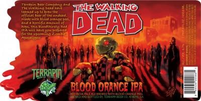 Terrapin The Walking Dead Blood Orange IPA - пиво по мотивам телесериала от Terrapin Beer