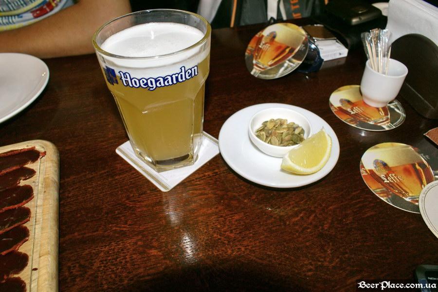 Краш-тест. Пивное бельгийское кафе Трубадур. Одесса. Хугарден