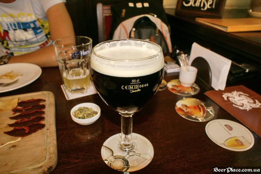 Краш-тест. Пивное бельгийское кафе Трубадур. Одесса. Leffe Brune
