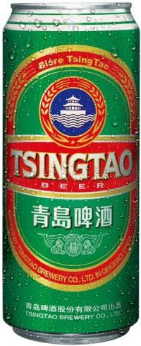 Акция на Tsingtao в супермаркетах Billa
