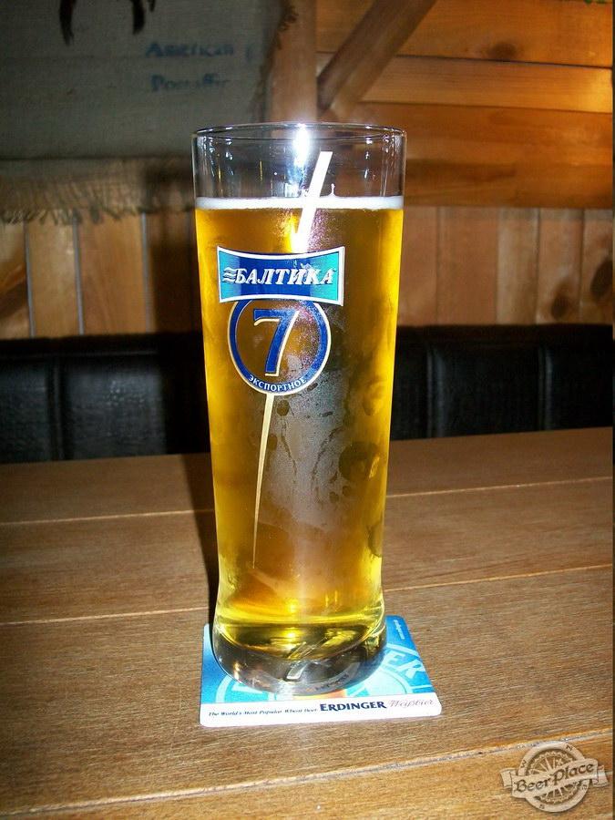 Краш-тест паба У Крошки Сью. Пиво Балтика 7