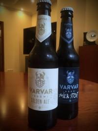 Golden Ale Juz и Milk stout от VARVAR уже в продаже