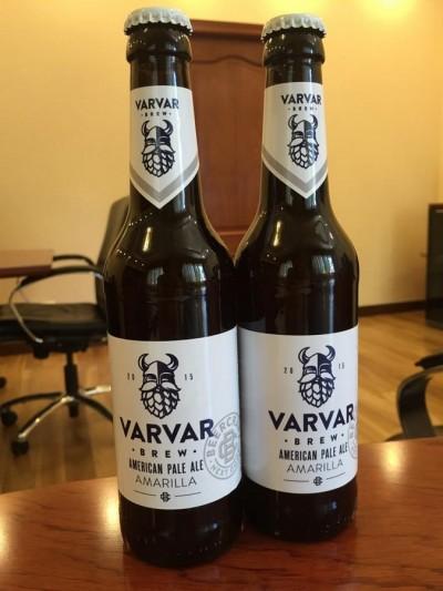Бутылочное пиво VARVAR American Pale Ale Amarilla