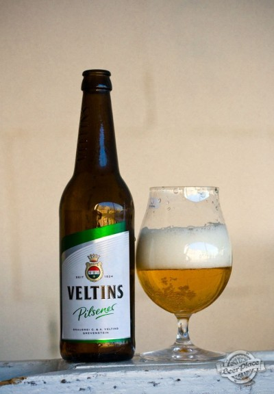 Дегустация пива Veltins Pilsener