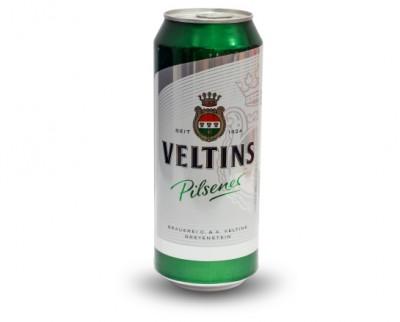 Акция на баночный Veltins Pilsener в Сильпо