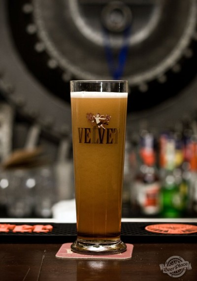 Дегустация пива Velvet