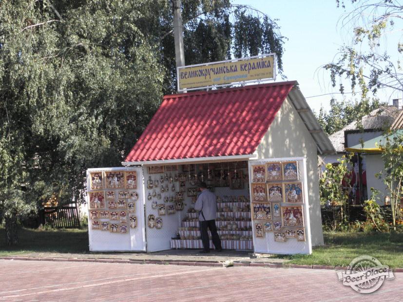 Ларек по продаже керамики
