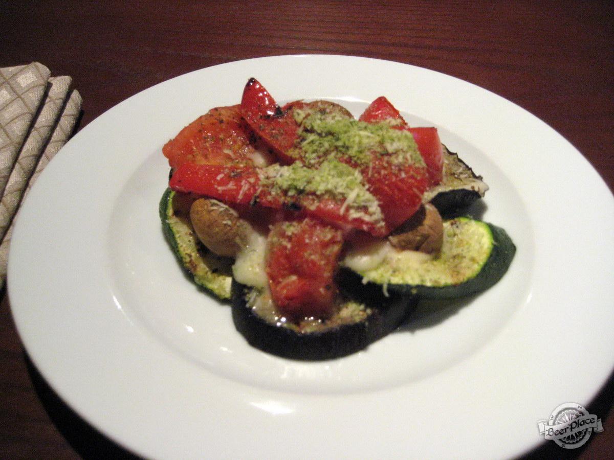 Краш-тест пивного ресторан Виллер на Оболони. Овощи гратен
