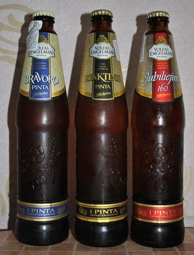Литовское пиво Volfas Engelman в Украине