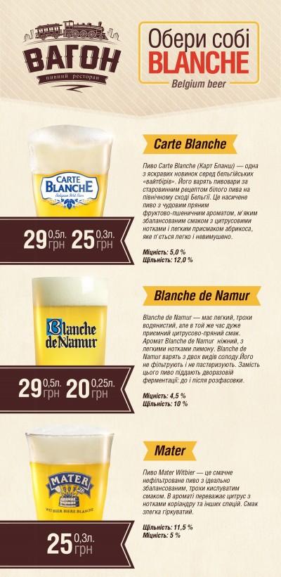 Mater | Blanche de Namur | Carte Blanche в Украине