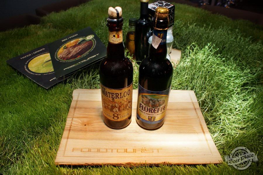 Дегустация Waterloo 8 Double Dark и Floreffe Prima Melior в FoodTourist